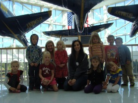 Field trip to NAS National Musuem of Naval Aviation